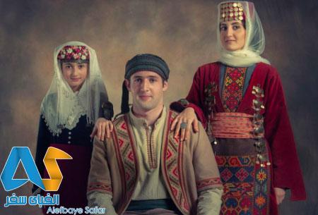 لباس های سنتی ارمنستان