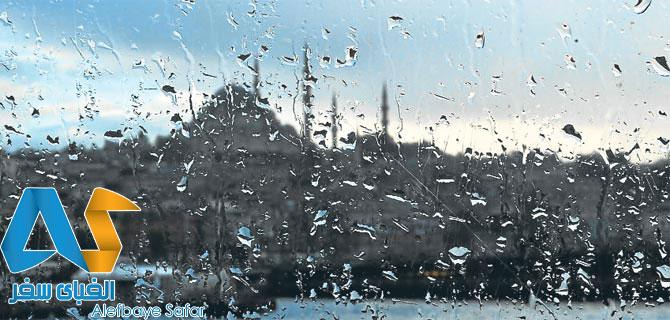 باران در استانبول